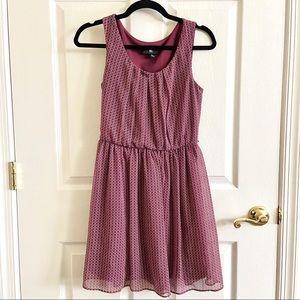 Beautiful Maroon Flowy Dress